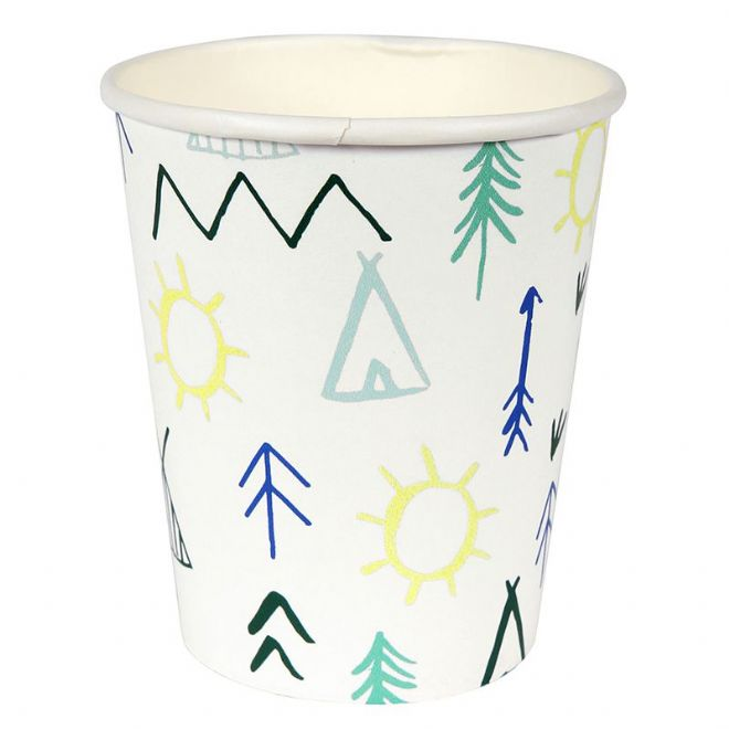 Let's Explore Paper Party Cups - pack of 12